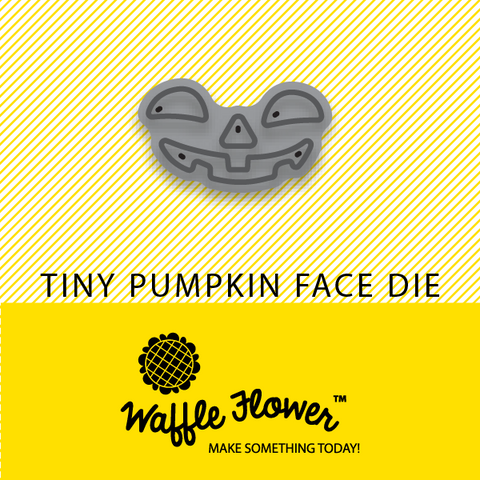 Tiny Pumpkin Face Die Die