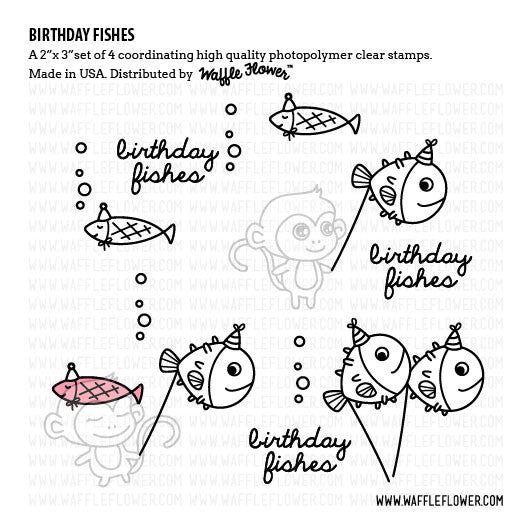 Birthday Fishes Stamp Set