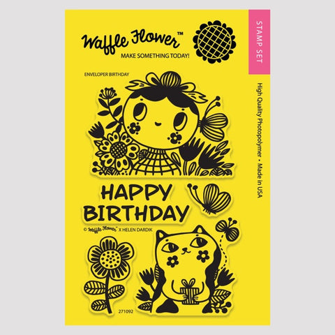 Enveloper Birthday Stamp Set