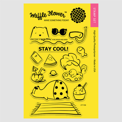 Stay Cool Stamp Set
