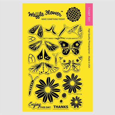 Pretty Wings Stamp Set