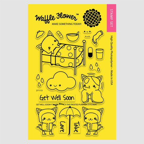 Get Well Soon Stamp Set