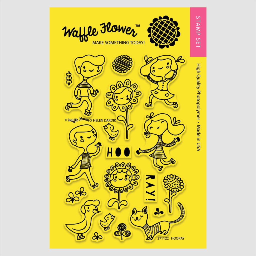 Hooray Stamp Set
