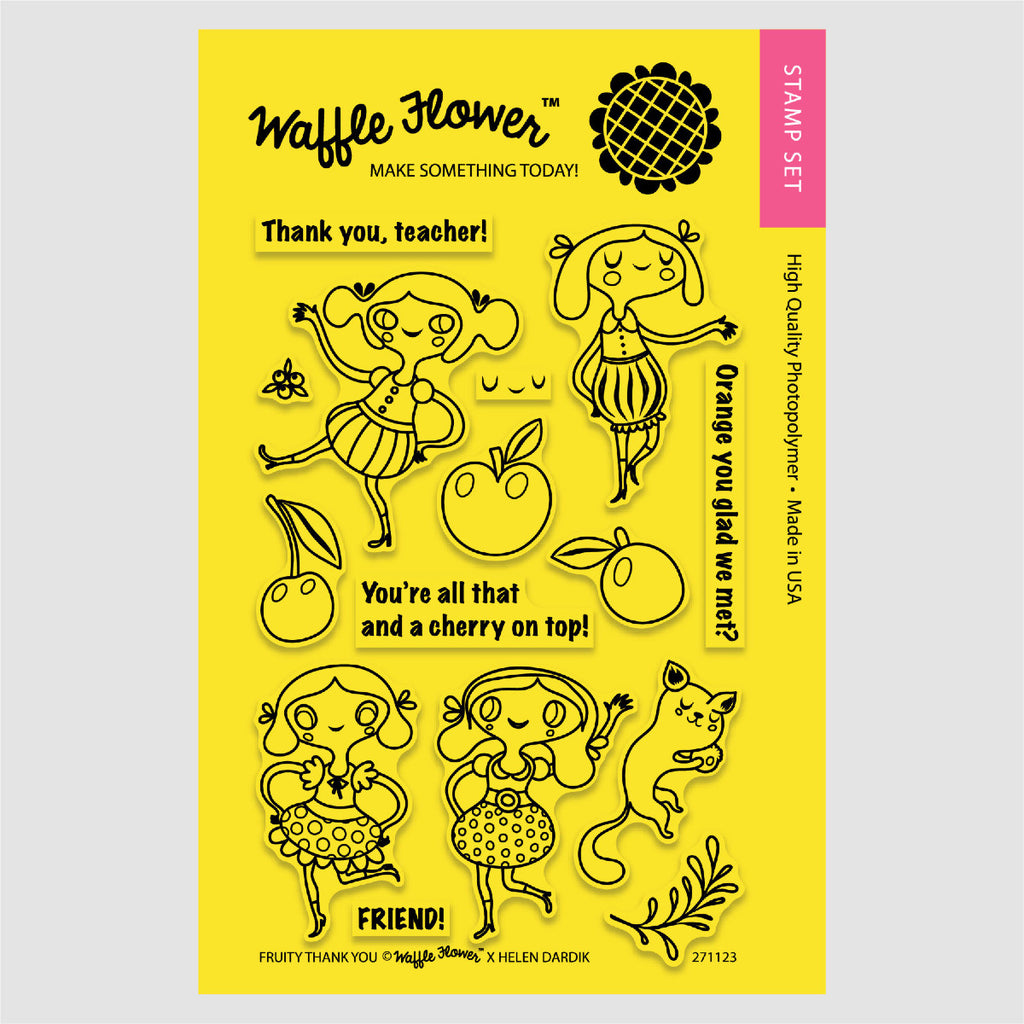 Fruity Thank You Stamp Set