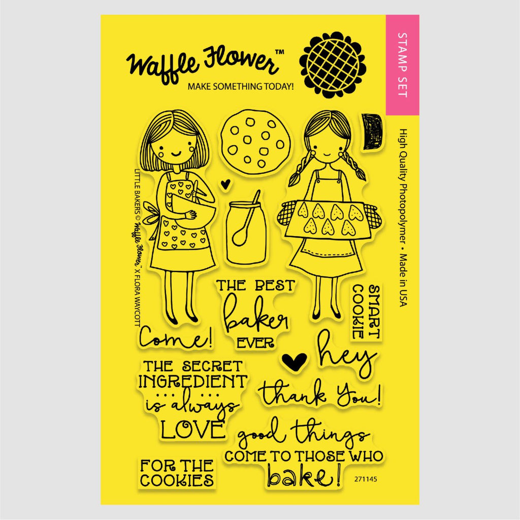 Little Bakers Stamp Set