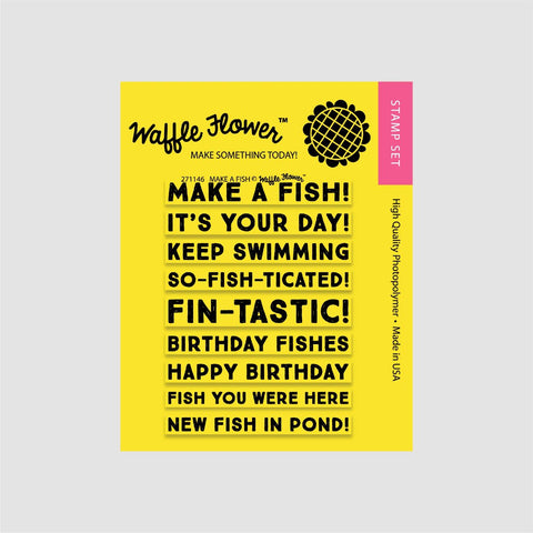 Make a Fish Stamp Set