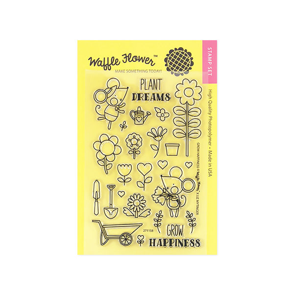 Grow Happiness Stamp Set
