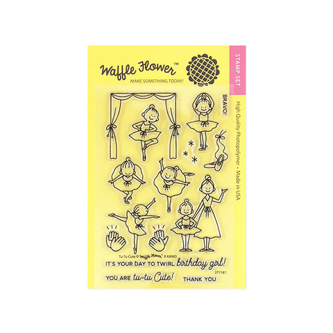 Tu-Tu Cute Stamp Set