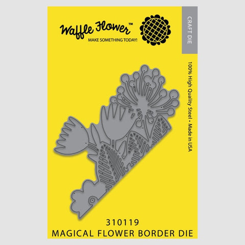 Magical Flower Border Die
