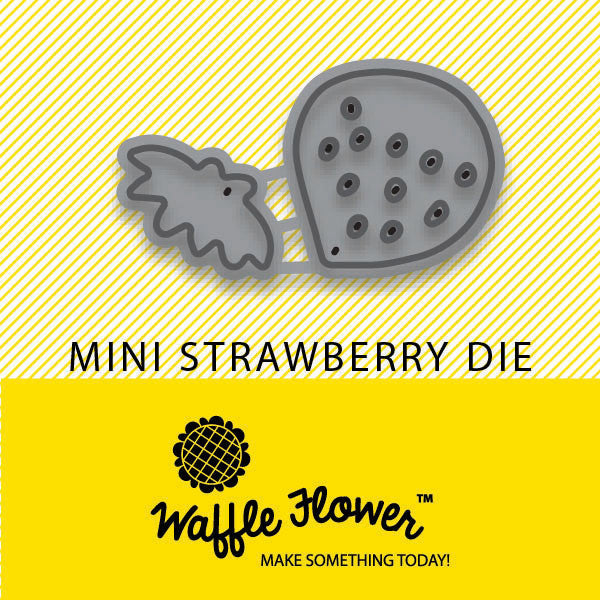 Mini Strawberry Die