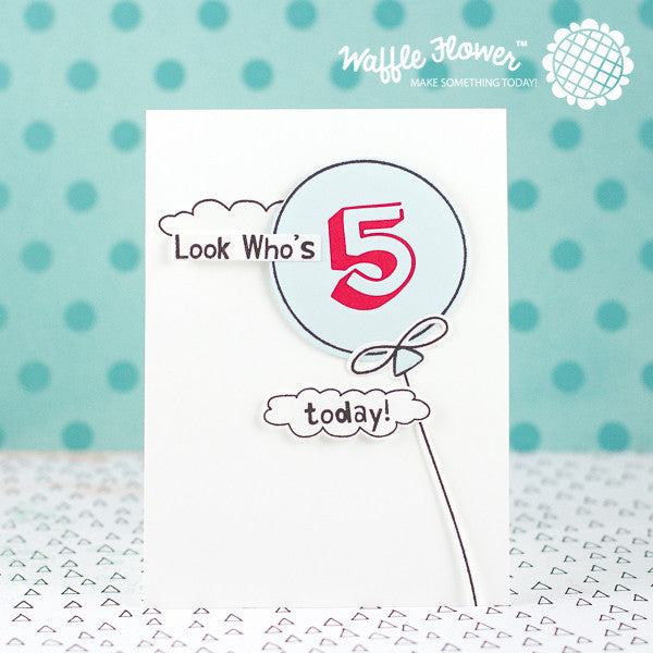 Balloon Messages Stamp Set