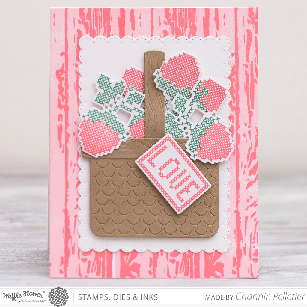 Stitched Love Stamp Set