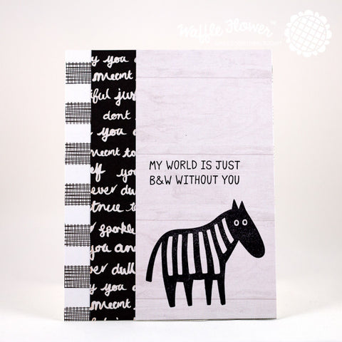 Monochrome Stamp Set