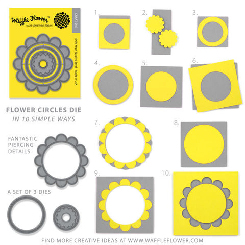 Flower Circles Die Set