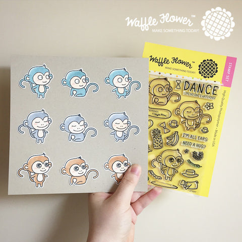 Willy & Friends Stamp Set