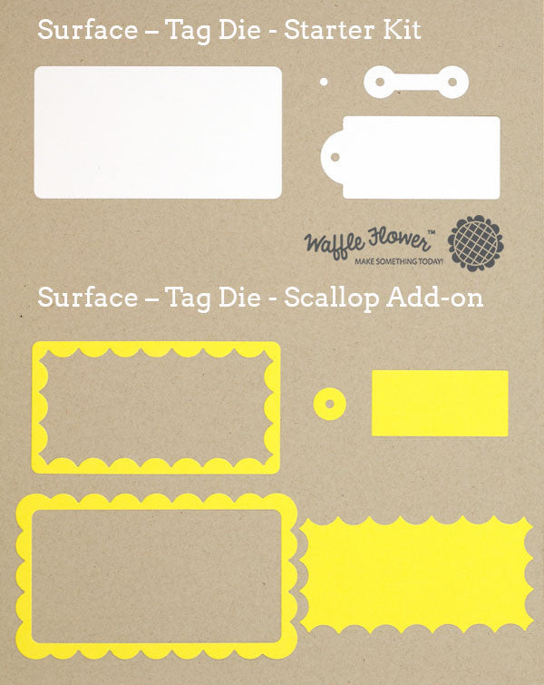 Surface - Tag Die - Scallop Add-on