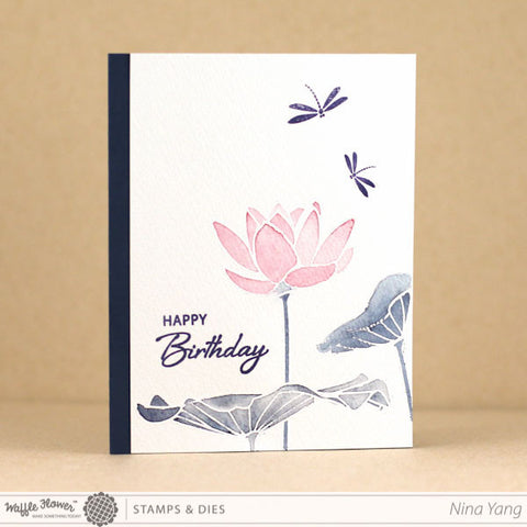 Lotus Stamp Set