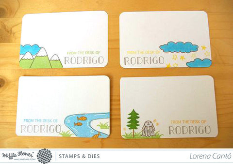 Riverside Stamp Set