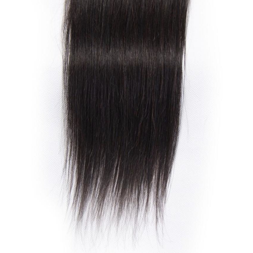 Transparent Lace Closure Straight Brazilian HAIR BY KARMA BLACK