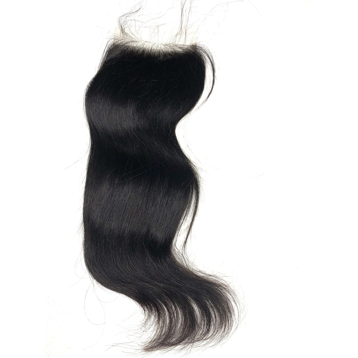 HD Lace Closure Straight Brazilian