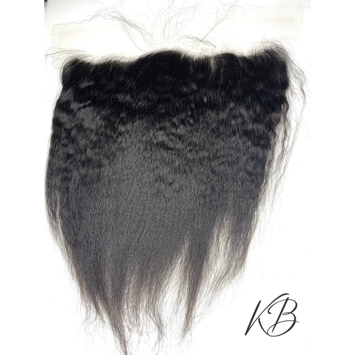 HD Lace Frontal Kinky Straight Brazilian