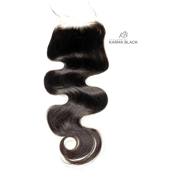 HD Lace Closure Body Wave Brazilian HAIR BY KARMA BLACK HD Lace Closure: 4X4 HD lace closures, 5X5 HD lace Closures