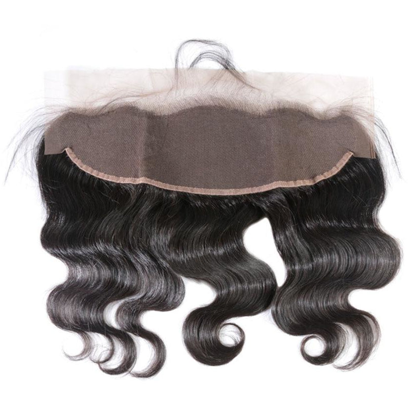 Transparent Lace Frontal Body Wave Brazilian HAIR BY KARMA BLACK Transparent Lace Frontals 13 X 6 | Transparent Lace Closure 5 X 5