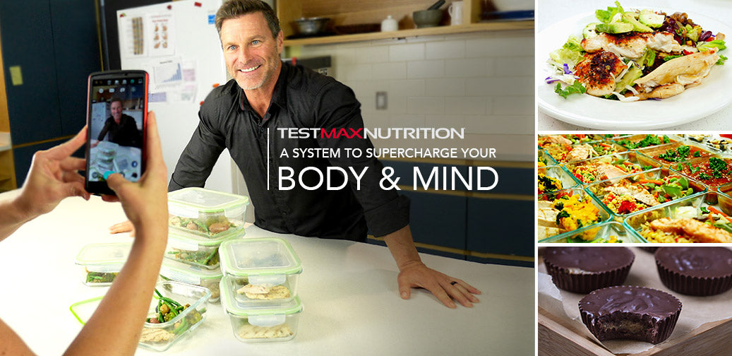 TESTMAX NUTRITION AND YOUR MALE HORMONE HEALTH