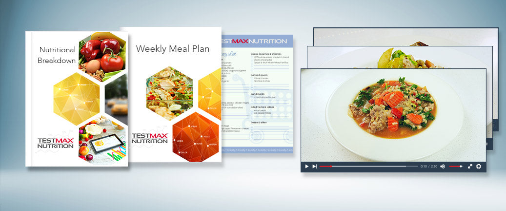 Plus… an added bonus for TestMax Nutrition System members only