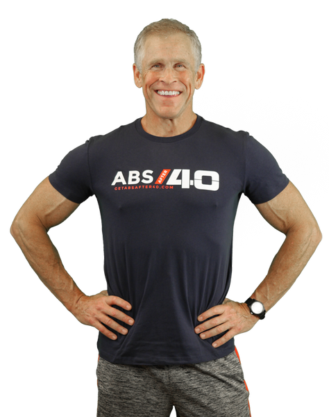 Blue Abs After 40 T-Shirt