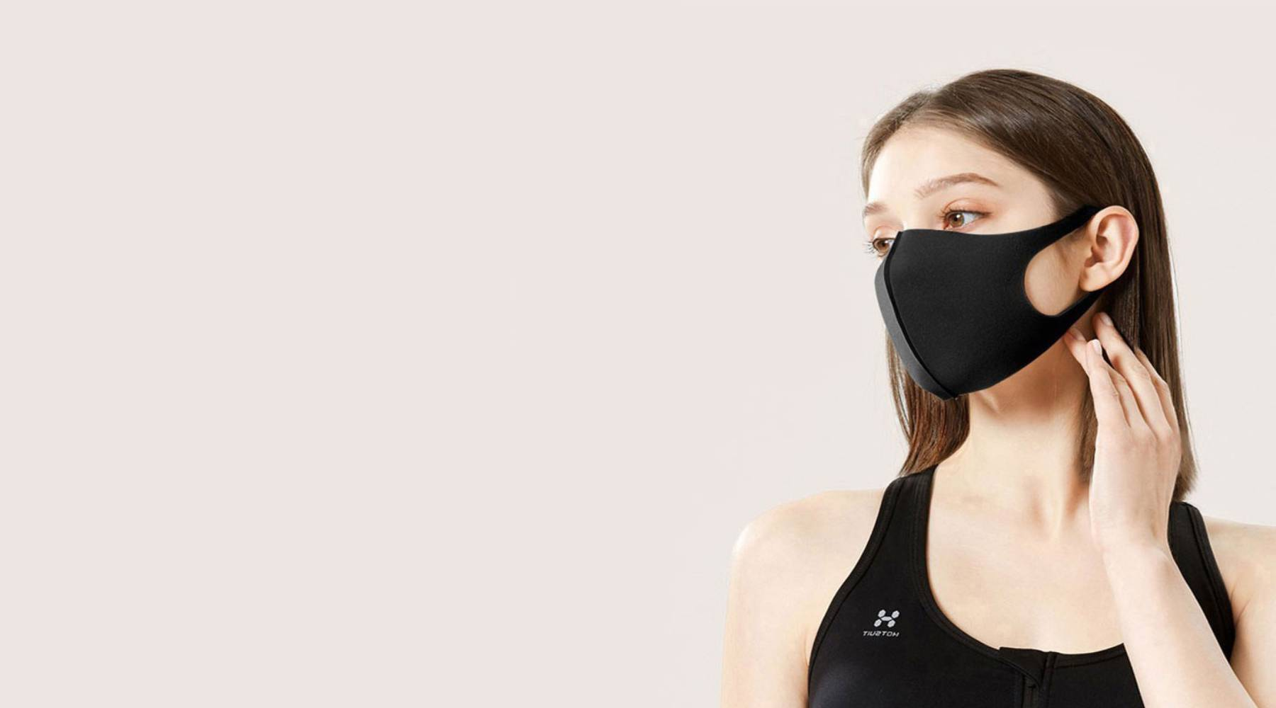 Black Unisex Washable & Reusable Fashion Face Mask Mouth Cover | Zestique
