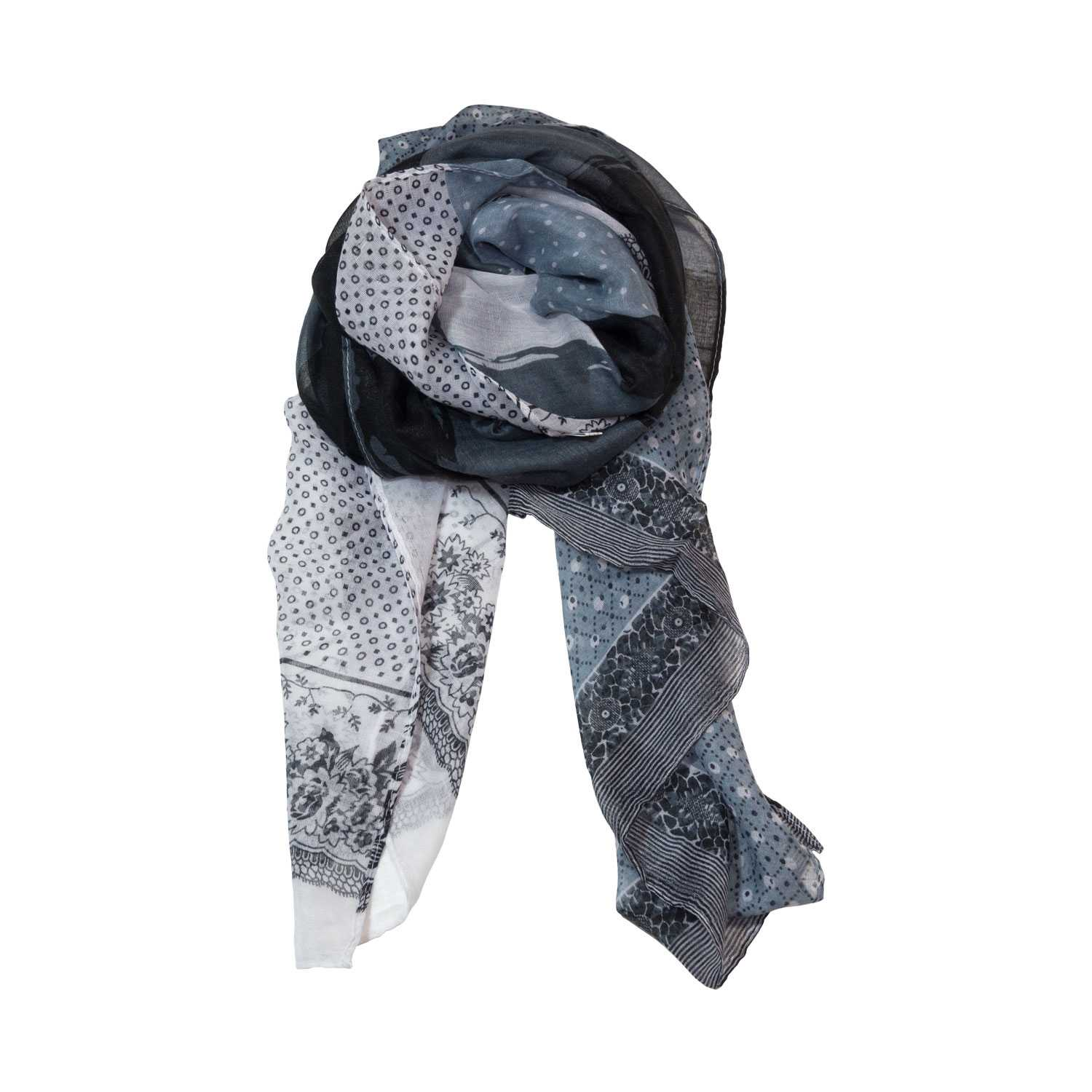 Cozy Square and Polka Dot Pattern Fashion Scarves Wrap - Zestique
