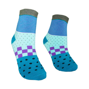 Men's Colorful Pattern Fashion Crew Socks - Zestique