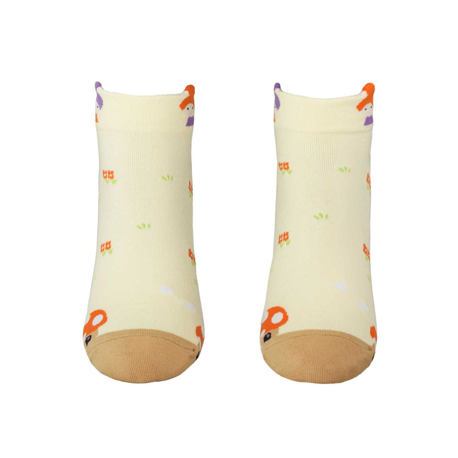 Women's Fairy Tales Socks - Yellow - Zestique