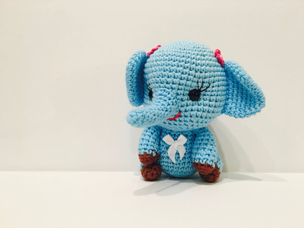 Crochet Dolls- Elephant