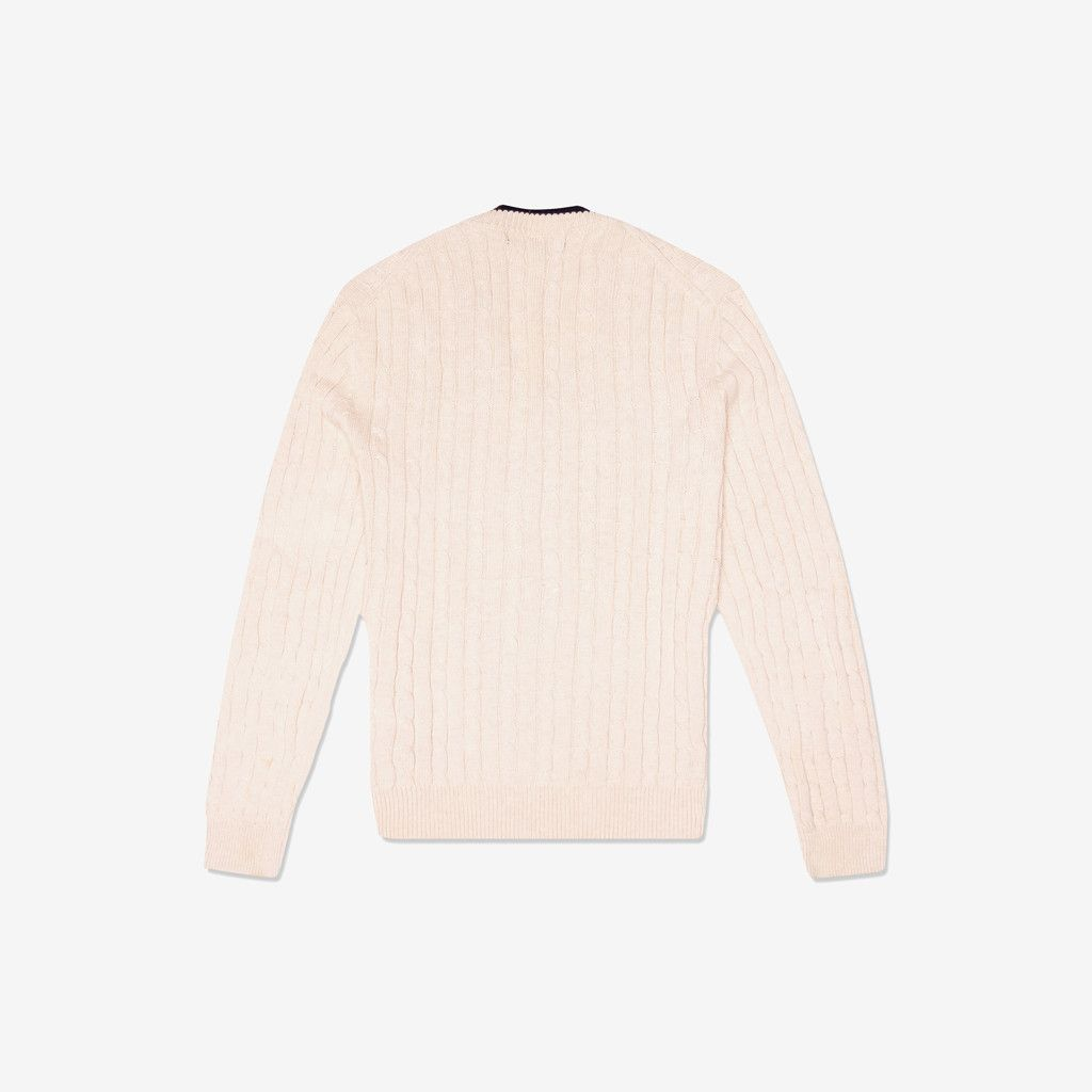 Fred Perry / Knitted Cotton Jumper