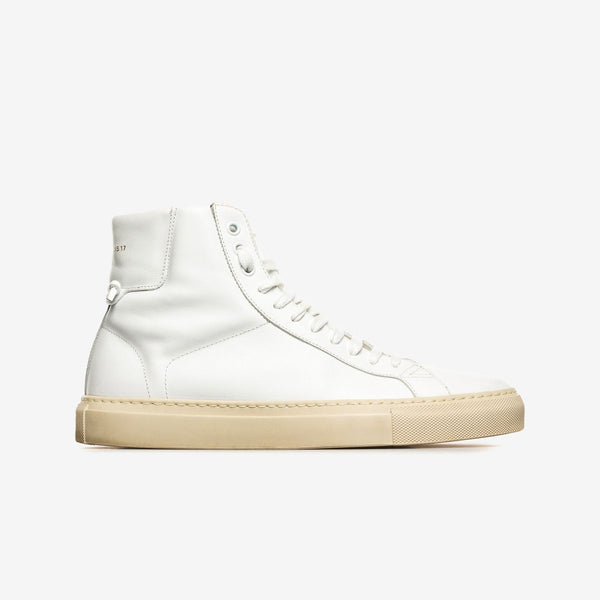 Givenchy / White Knotted High-top Sneakers