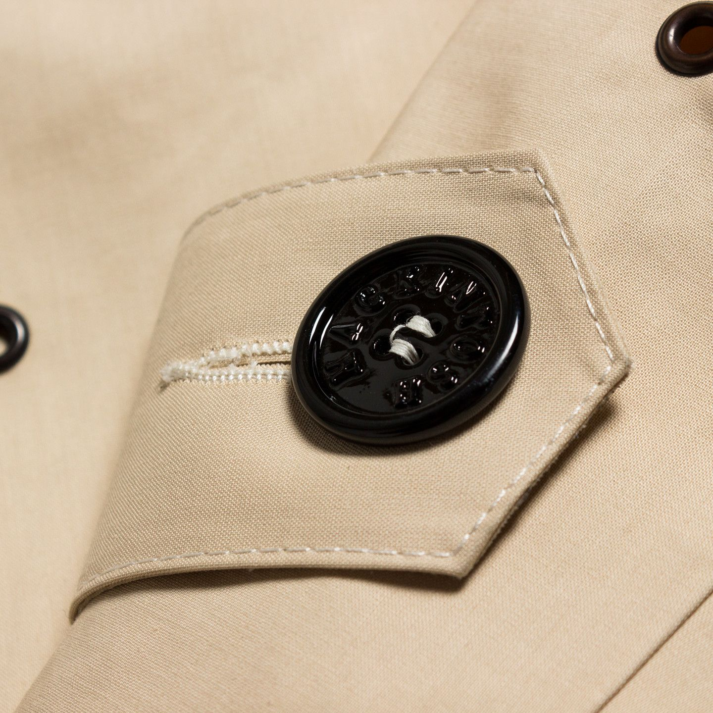Band of Outsiders / Grommet-Detailed Mackintosh Jacket