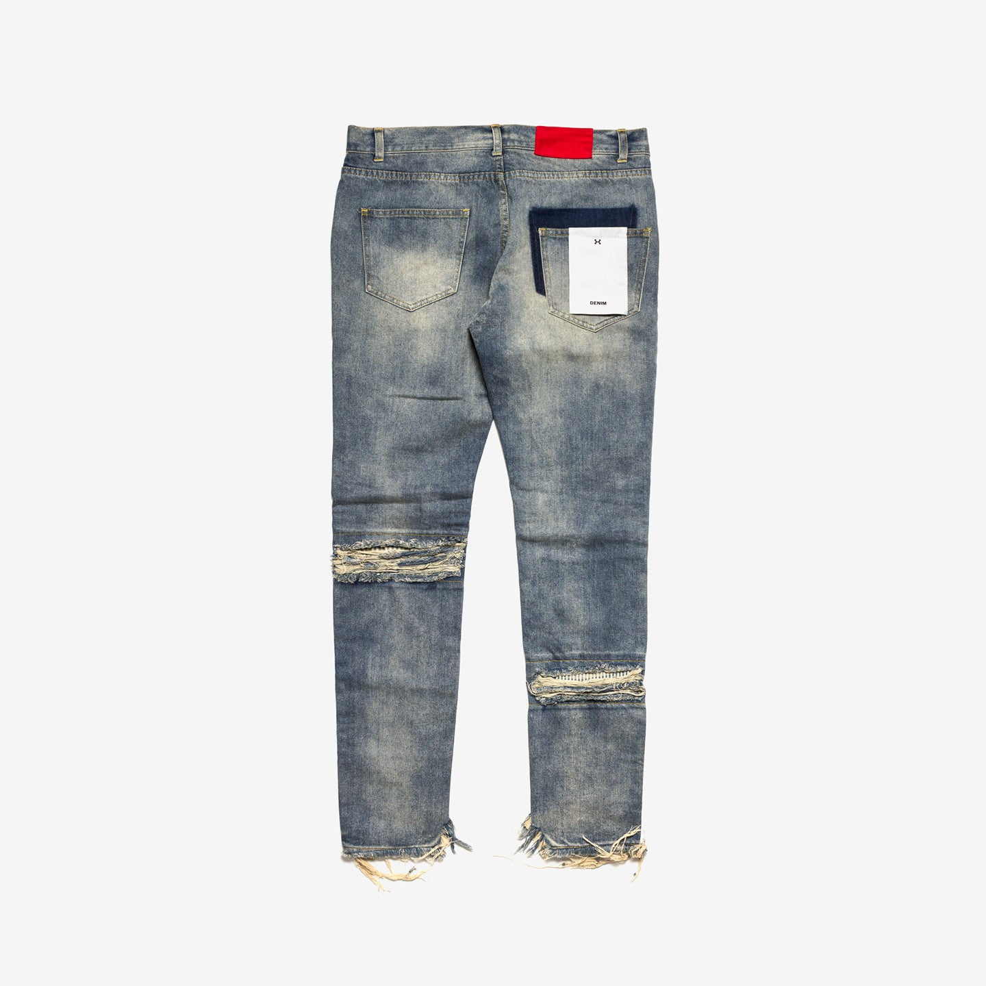 "C2H4 / 16SS ""ICE COLD"" HEAVY DISTRESS JEANS"