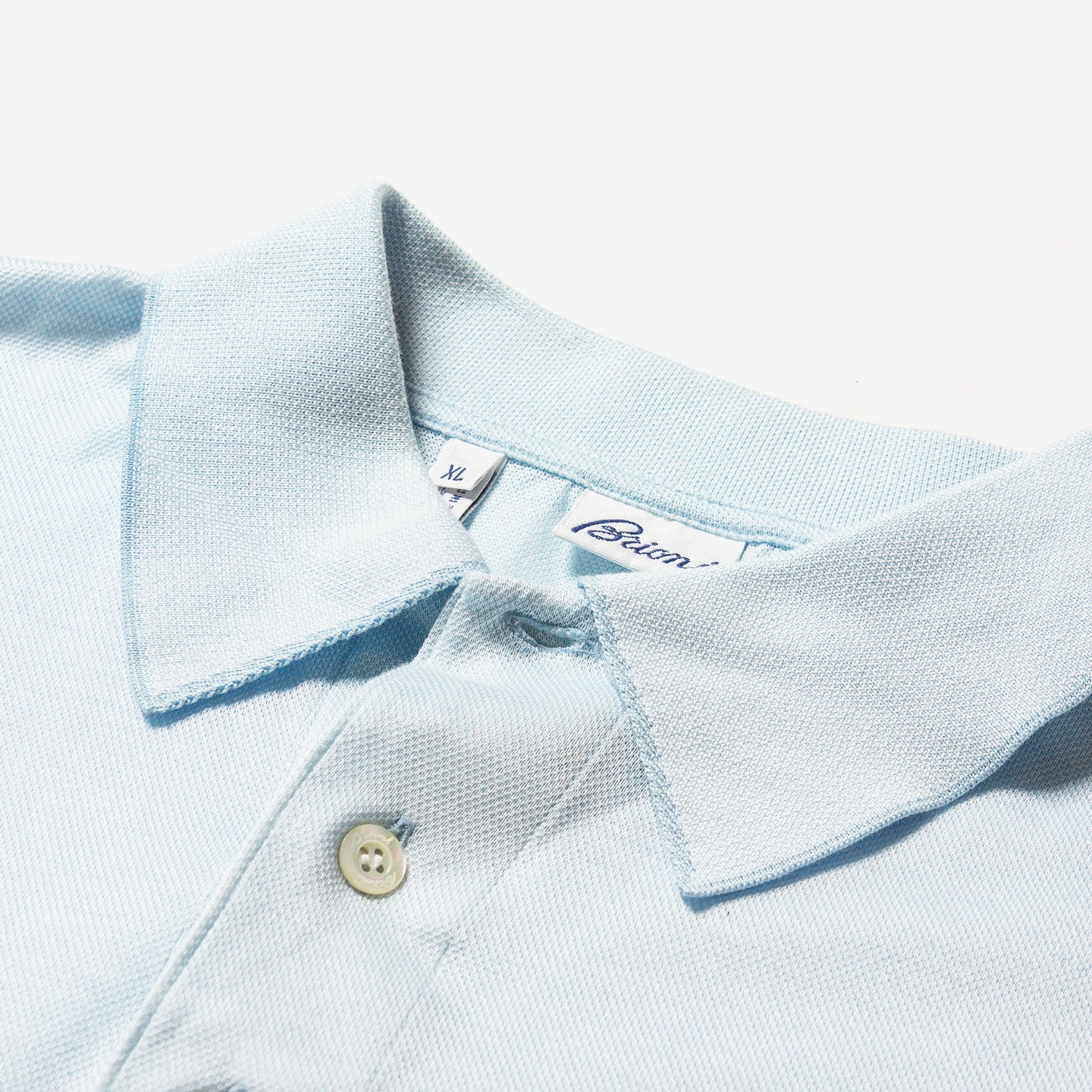 Brioni / Men's Blue Polo