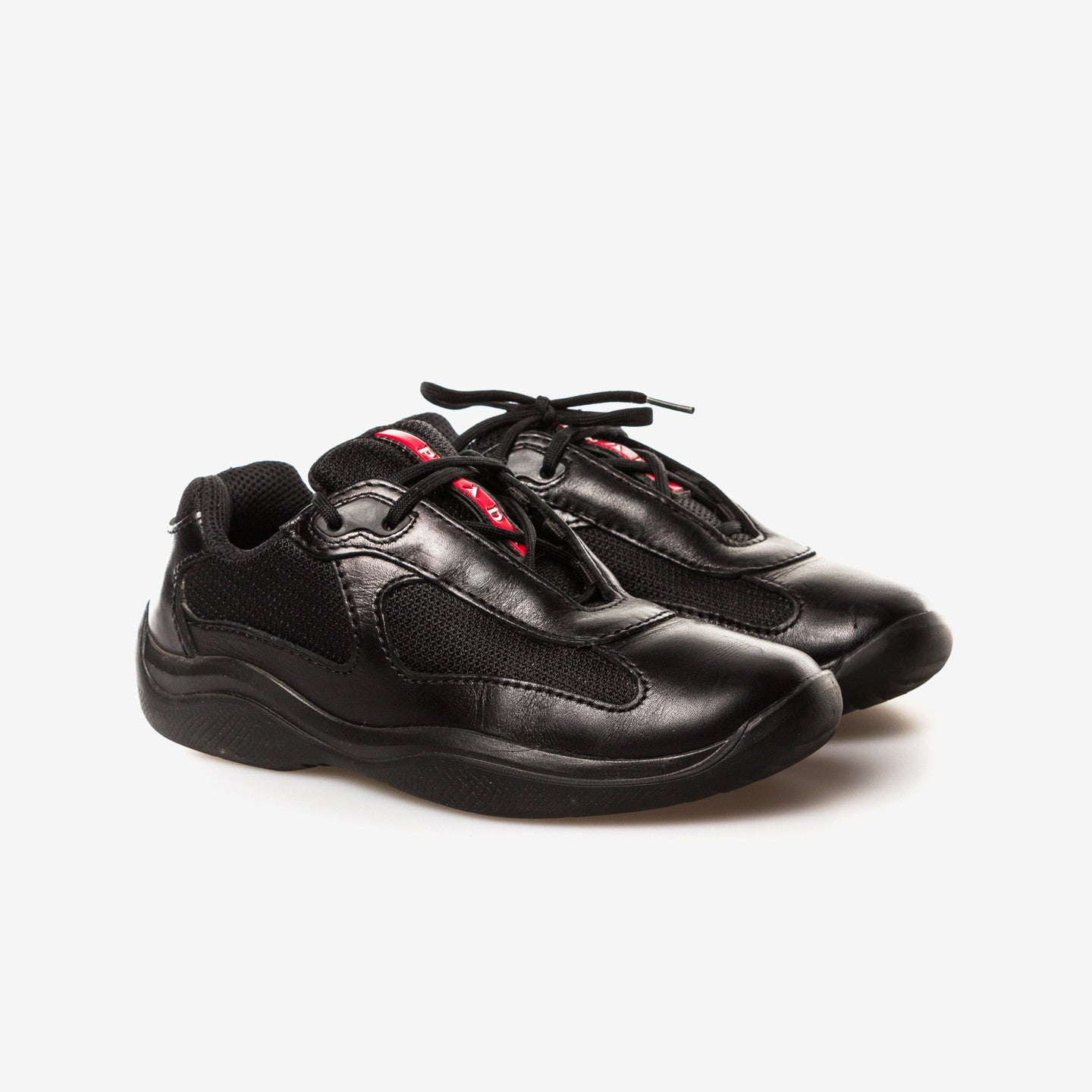 Prada Sport / Leather low-top sneakers