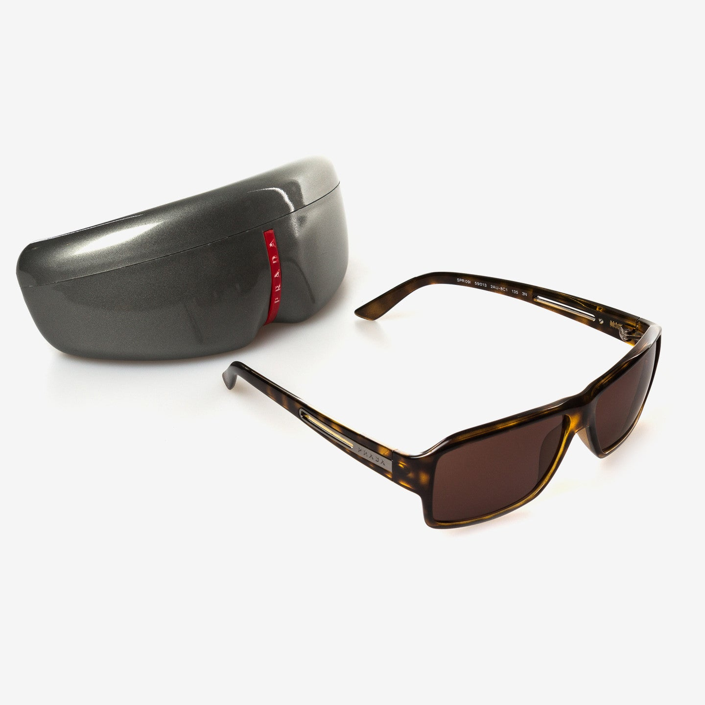 Prada /  Brown Sunglasses