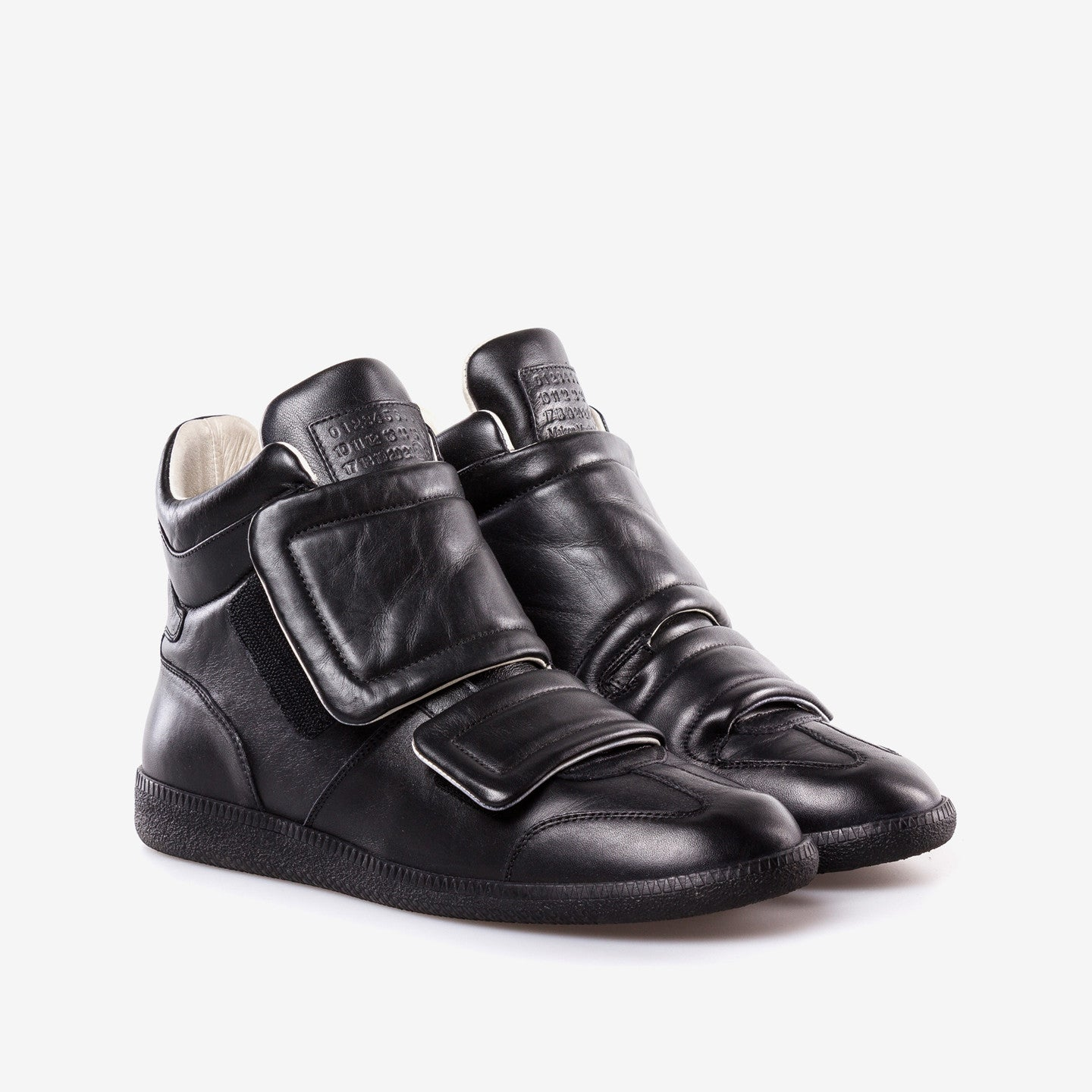 Maison Martin Margiela / Black Leather Clinic High Top Sneakers