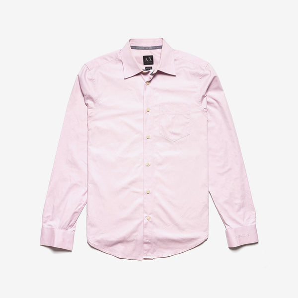 Armani Exchange / Pink Cotton Shirt