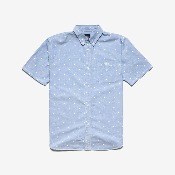 Stussy / Stars Oxford Short Sleeve Shirt