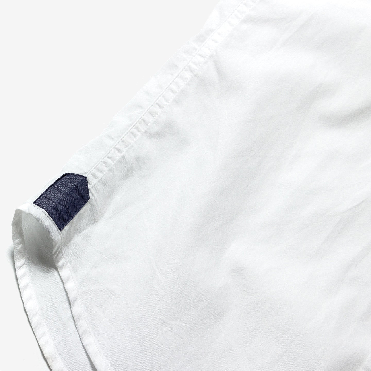 Armani Exchange / White and denim cotton shirt