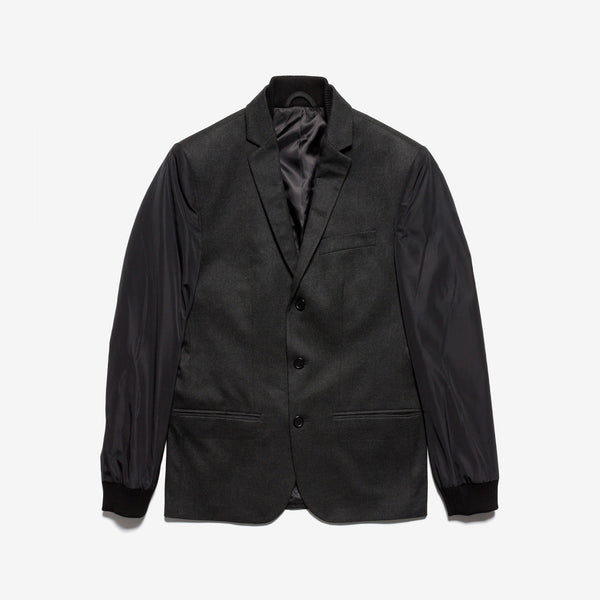 Kenneth Cole / Black Combo Jacket