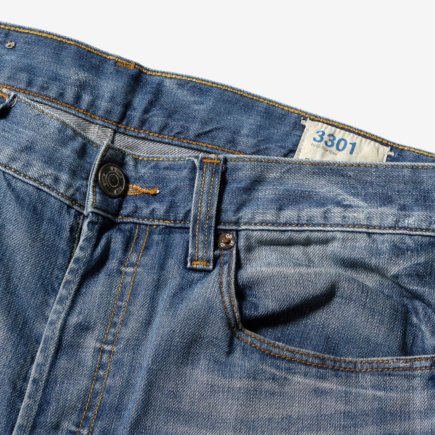 G-Star Raw / 3301 Slim Fit Jeans