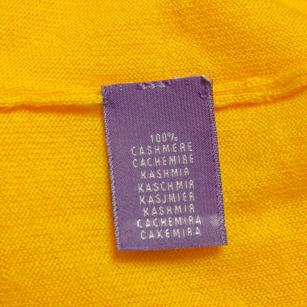 Ralph Lauren Purple Label / Cashmere v-neck sweater