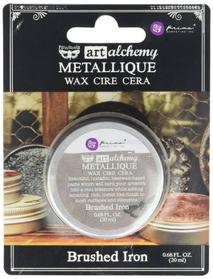 Art Alchemy Métallique Wax Finnabair - Brushed Iron